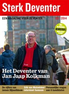 Sterk Deventer - Magazine maart 2014 - voorkant